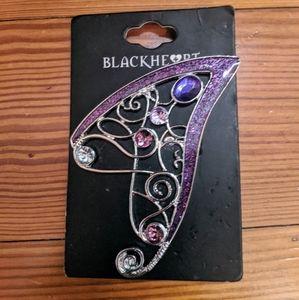 Blackheart Fairy Ear Cuff